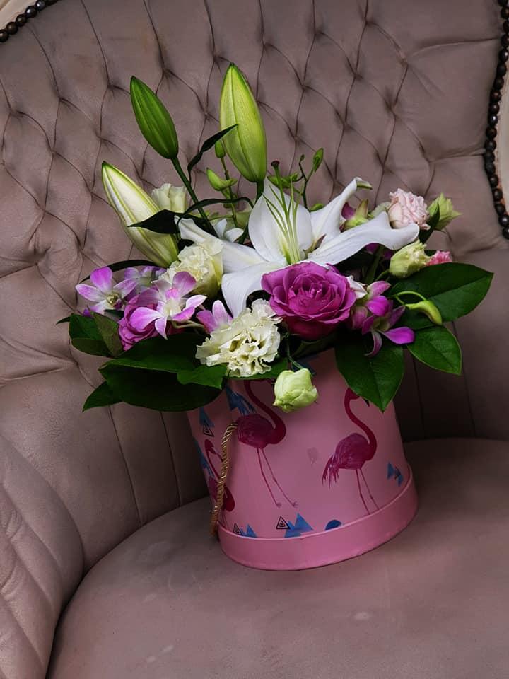 Cutii decorative flori