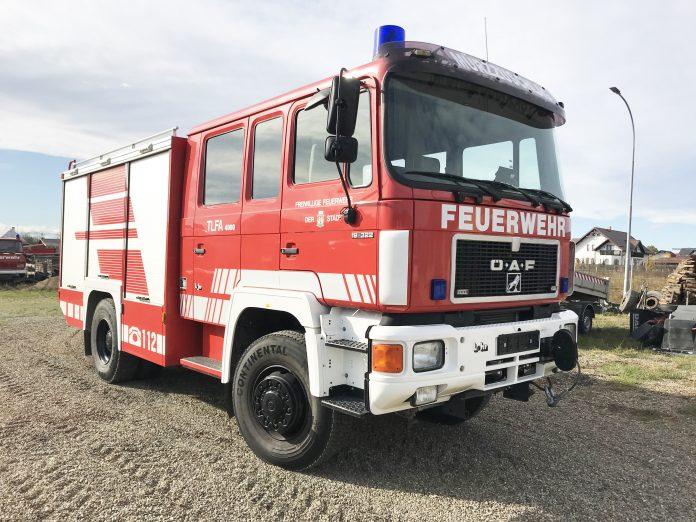 Autospeciala pompieri MAN